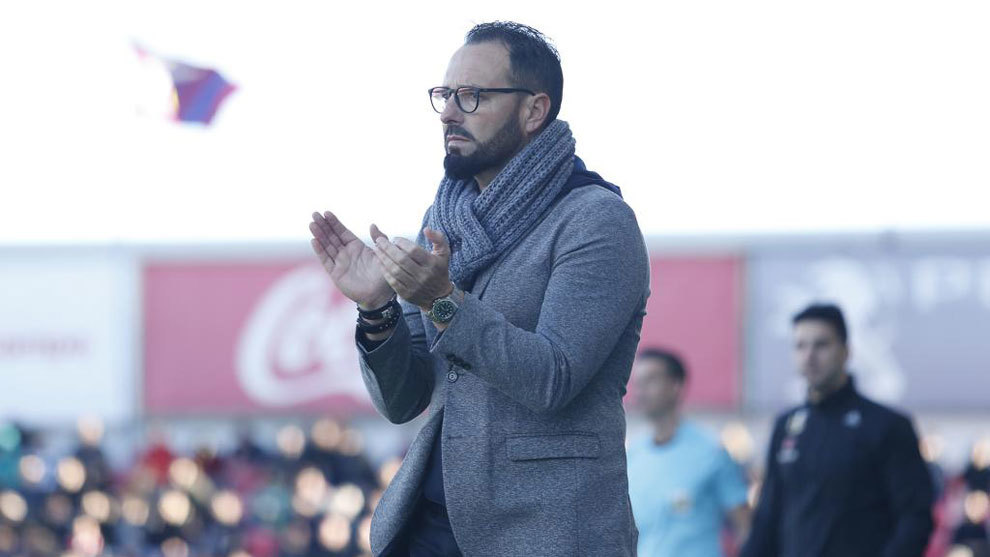 José Bordalás, en un partido de esta temporada