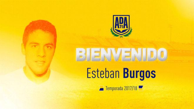 Esteban Burgos (25), nuevo jugador del Alcorcón.