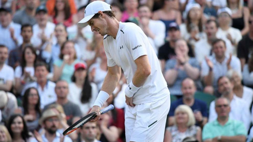 Murray se duele de la cadera