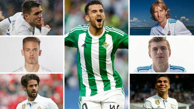 El centro del campo del Real Madrid para la temporada 17-18