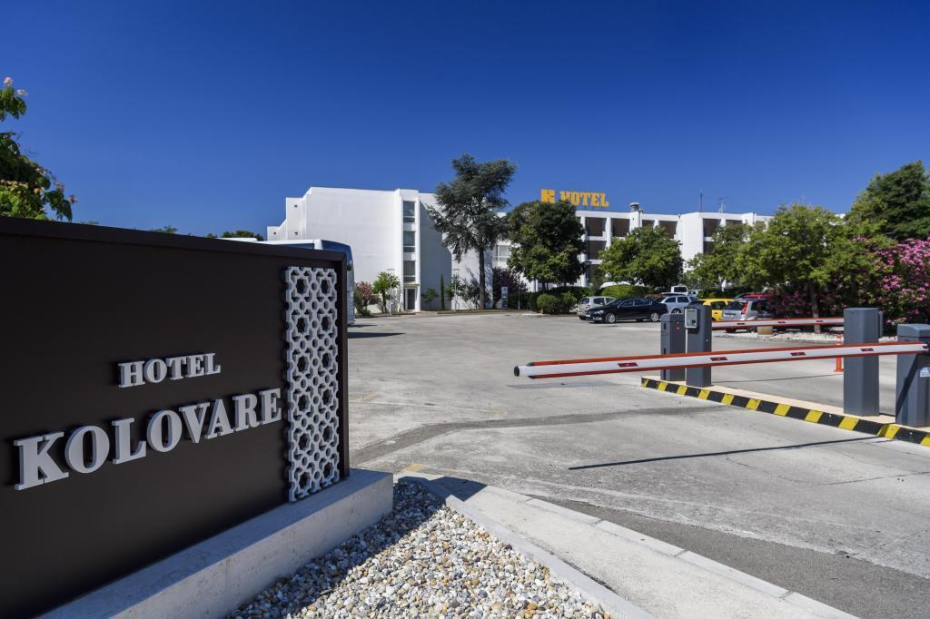 Hotel Kolovare, su primer refugio en Zadar