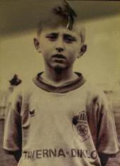 Modric, en una de sus primeras imágenes como jugador del Zadar