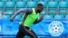 Romelu Lukaku, en un entrenamiento con la selecci�n de B�lgica.