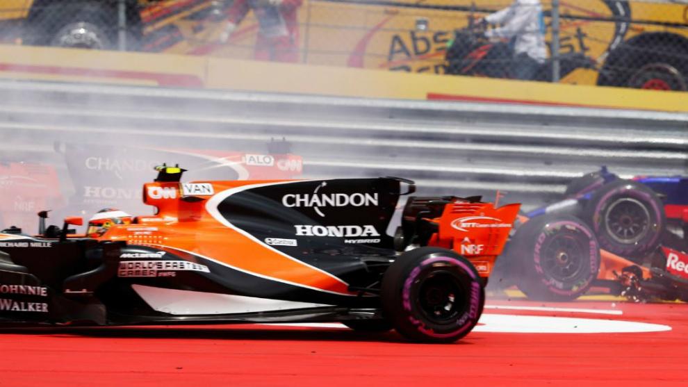 El Honda de Fernando Alonso