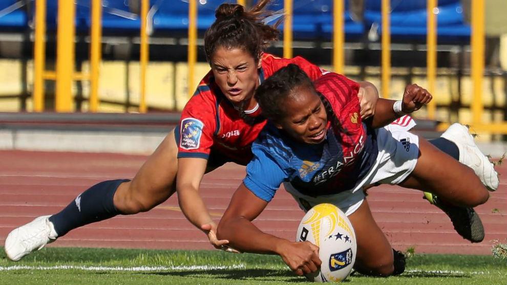 Barbara Garcia y Yolaine Yengo.