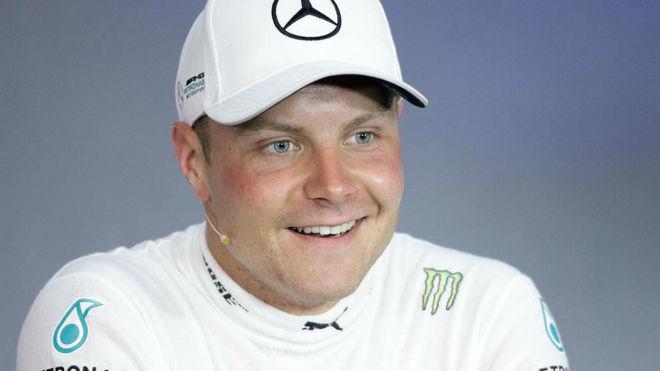 Bottas, tras ganar el GP de Austria.