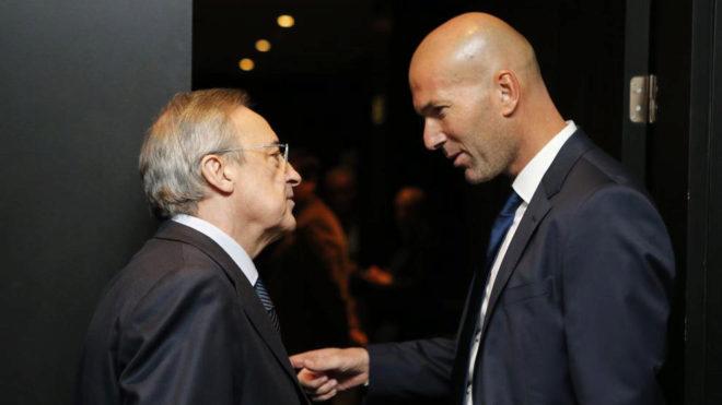 Resultado de imagen para florentino y zidane