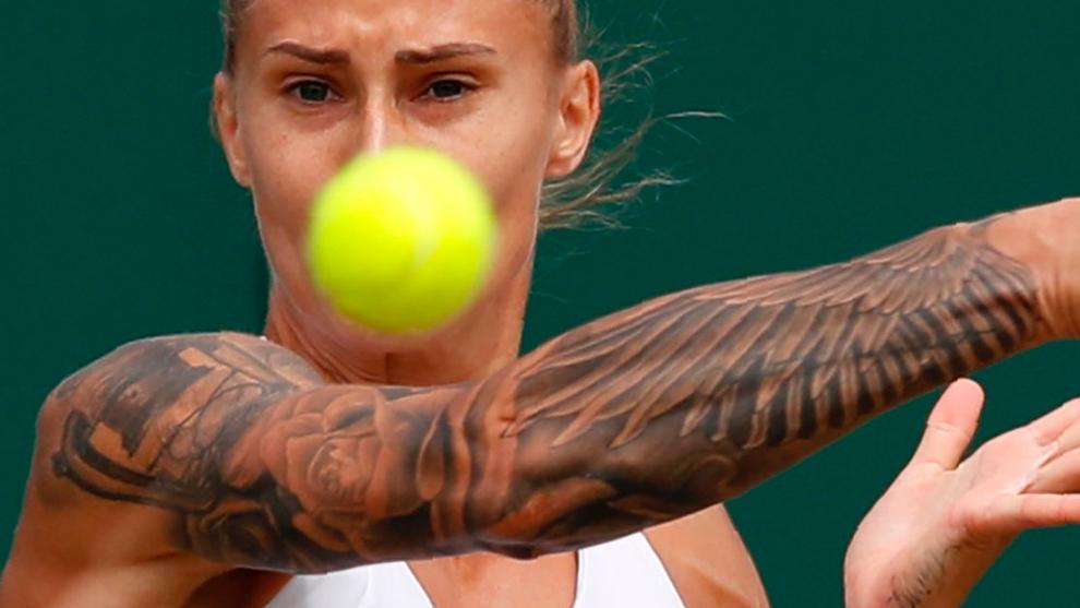 Polona Herc ha revolucionado Wimbledon por su gran tenis y por sus...