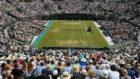 Vista de Wimbledon