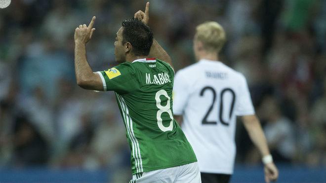 El gol de Marco Fabián a Alemania, elegido como el mejor de la Copa Confederaciones