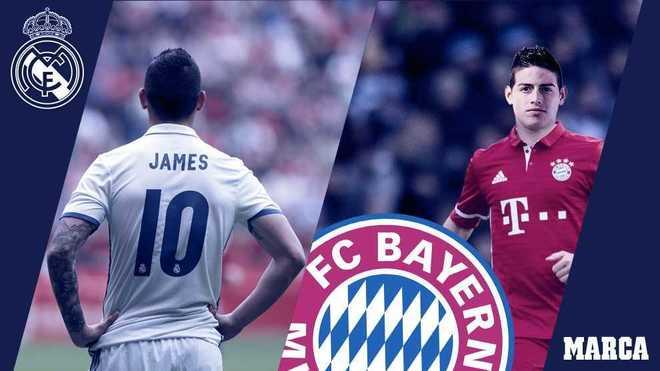 Real Madrid  Oficial  James Rodríguez se va al Bayern de Múnich ... 47e785f7c4018