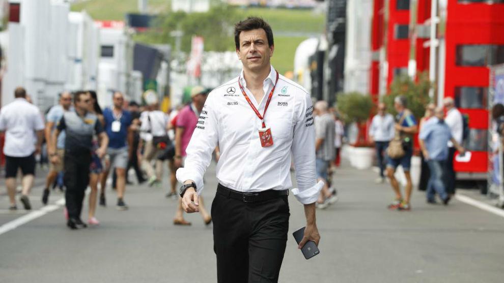 Totto Wolff, en el pasado Gran Premio de Austria