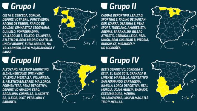 Fútbol no profesional - 2017/2018 | 2ª División B, 3ª División y ...