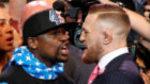 Amenazas e insultos en el primer cara a cara Mayweather-McGregor