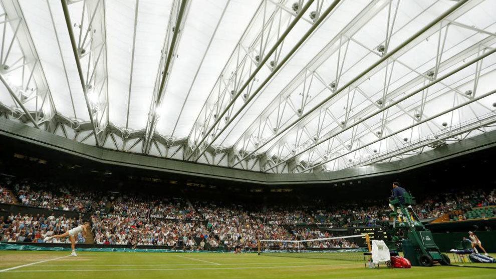 Vista de la central de Wimbledon