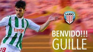Guille Donoso, nuevo jugador del Lugo.