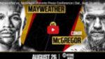 Segundo asalto del cara a cara entre Mayweather y McGregor