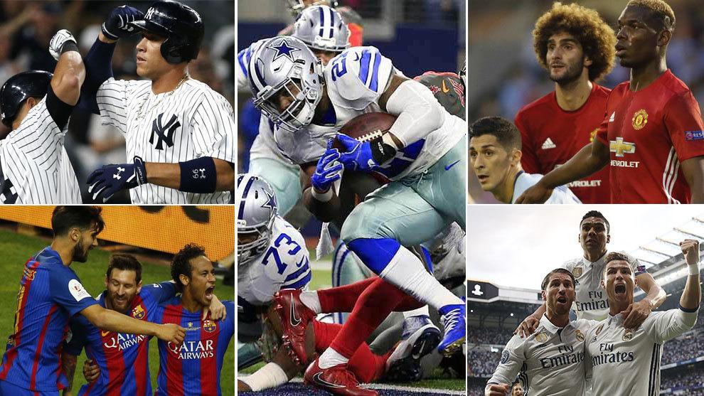 Los Cowboys de Dallas se alzan por encima del resto de equipos del...