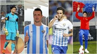 Gönen, Kuzmanovic, Juankar y Meré son pretendidos por el Málaga