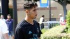 Achraf, en la pretemporada del Madrid en Los �ngeles