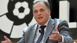 Javier Tebas, actual presidente de La Liga.