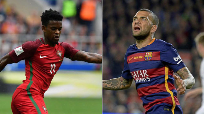 Semedo joins Dani Alves as Barcelona's most expensive
