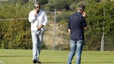 Gil Mar�n habla por tel�fono en San Rafael, con Andrea Berta de...