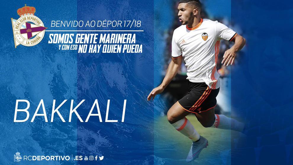 Deportivo presenta a Zakaria Bakkali