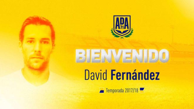 David Fernández, nuevo jugador del Alcorcón.