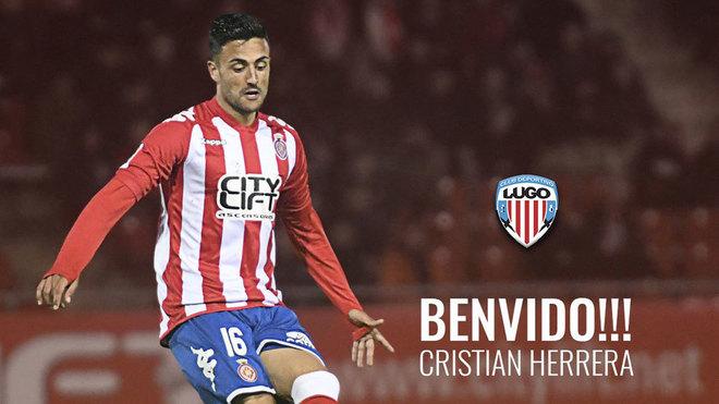 Cristian Herrera, nuevo jugador del Lugo.