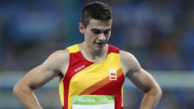 Bruno Hortelano en los Juegos de Río.