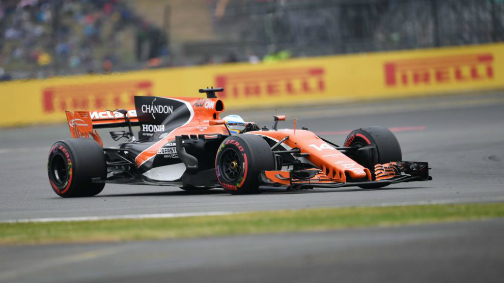 Fernando Alonso en la Q1