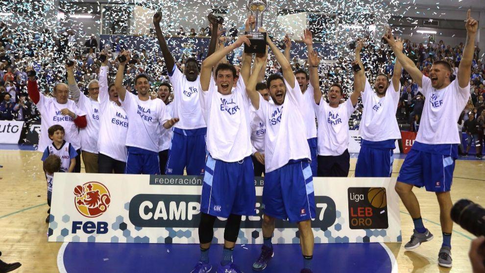 Gipuzkoa Basket, campeón de la LEB Oro 2016/17