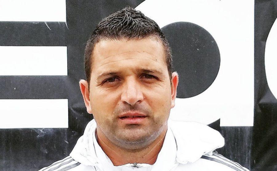 Oliver Mendoza en la Ciudad Deportivo del Real Madrid