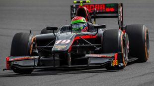 Sergio Canamasas, en Silverstone