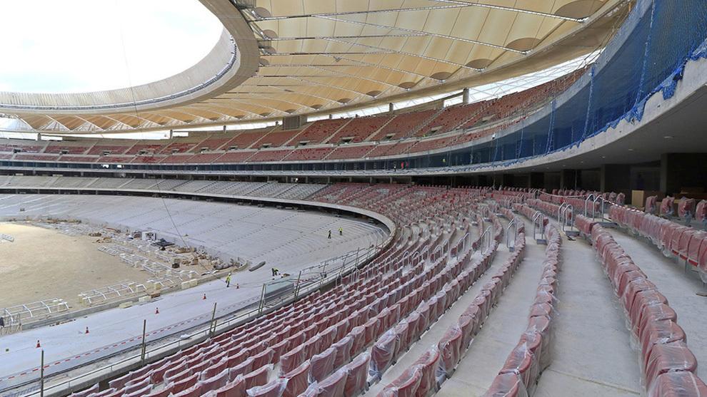 El Metropolitano será el primer estadio en España con este servicio.