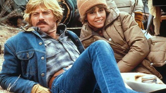 Redford y Fonda en 'El jinete eléctrico'