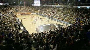 Imagen del Quijote Arena durante un Ciudad Real - Barça de la...