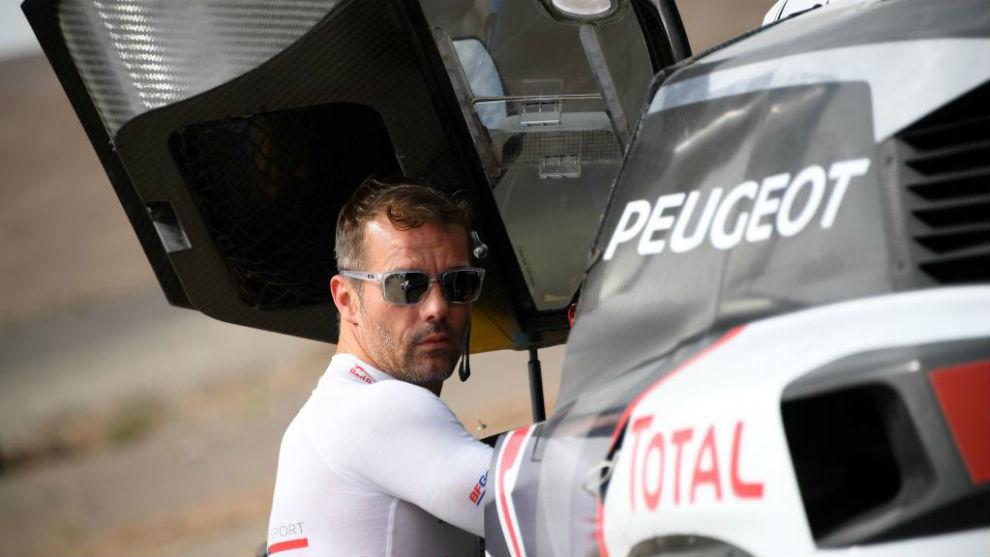 Sebastian Loeb, en el Rally Silk Way