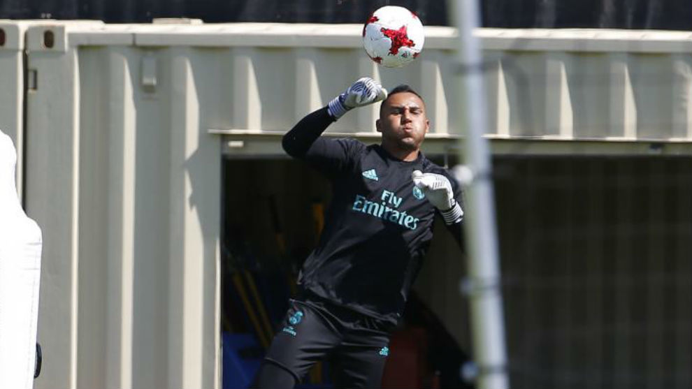 Keylor Navas: Real Madrid are giving 100 percent in our preparation