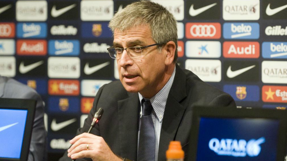 Jordi Mestre en rueda de prensa.