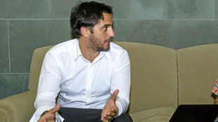 Agustín Pichot en una entrevista con MARCA.