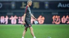 Wenger, en una imagen de la pretemporada