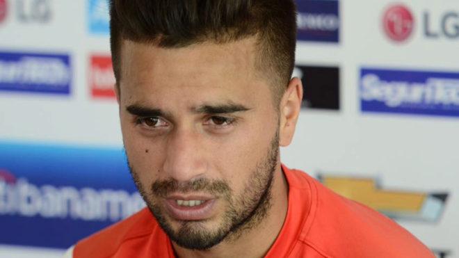 Gómez en conferencia de prensa.