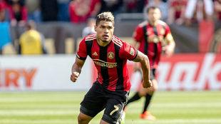 Josef Martínez en acción durante un encuentro con el Atlanta United.