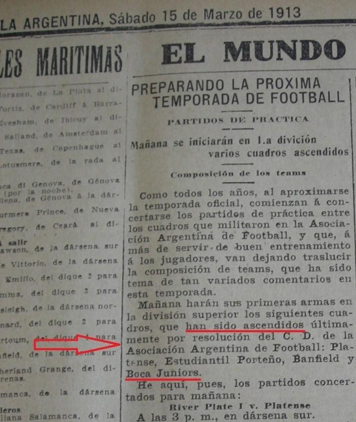 Revelan que Boca Juniors sí jugó en Segunda y ascendió gracias a River cc1fc629326