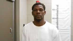 Jermain Taylor tras ser detenido por la policía de Arkansas