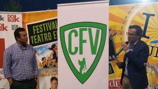 El nuevo escudo del CF Villanovense