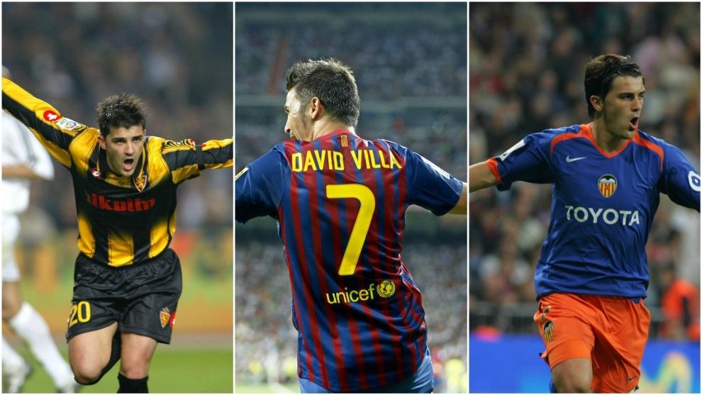 f8607290ed9 Five great David Villa goals that hurt Real Madrid