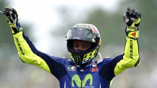 Valentino Rossi en Assenon